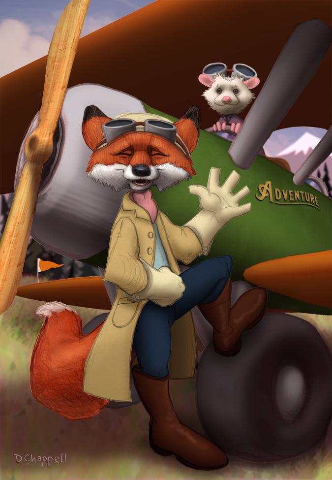 Phineas Fox & Manky O'Possum
